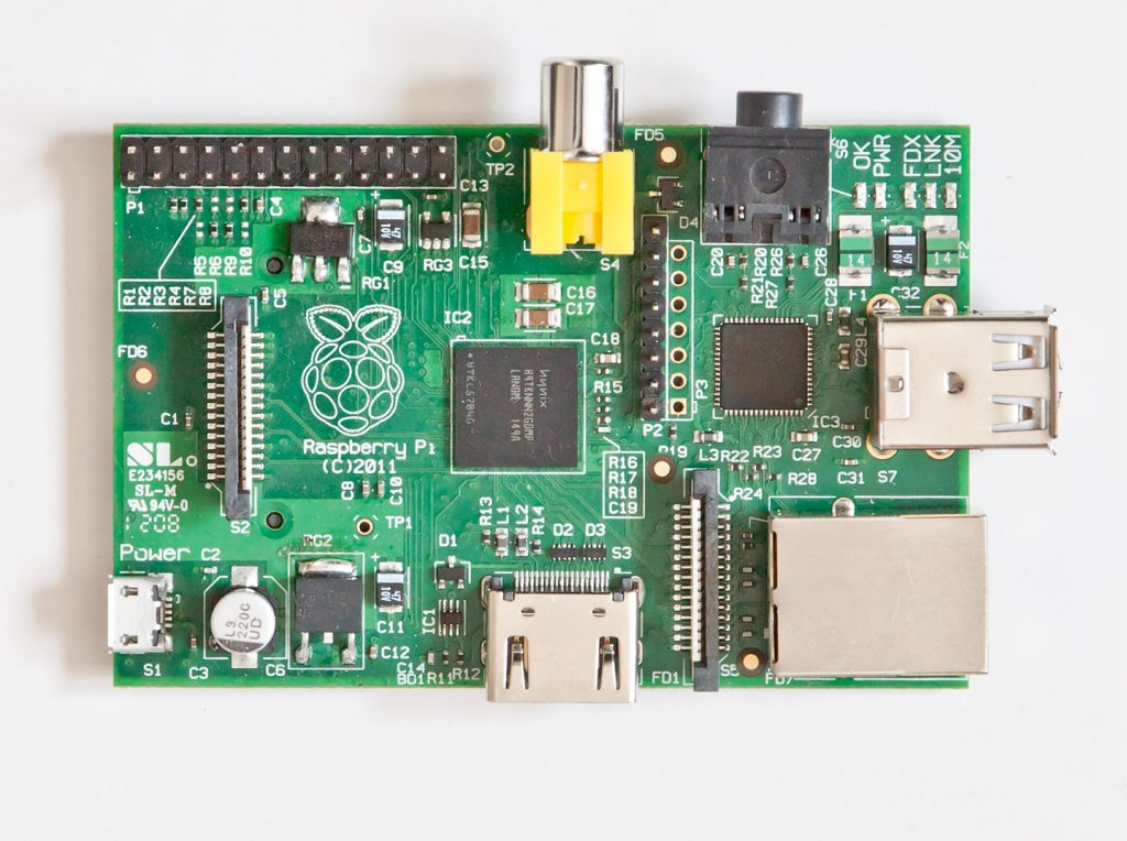 The Original Raspberry Pi board